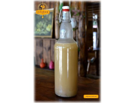 Арахисовое масло свежевыжатое