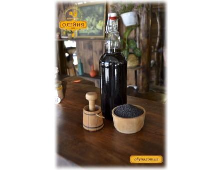 Масло черного кунжута свежевыжатое 200 мл