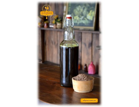 Льняное масло свежевыжатое